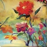 Wild Garden Stretched Canvas Print