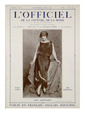 L'Officiel, May-June 1923 - Reproduction Autorisée Par Callot Sœurs Pósters por Madame D'Ora