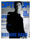 L&#39;Optimum, November 2003 - etienne Daho, en Total Look Hedi Slimane pour Dior Poster von Matthias Vriens