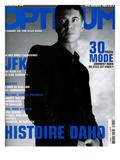 L'Optimum, November 2003 - etienne Daho, en Total Look Hedi Slimane pour Dior Poster by Matthias Vriens
