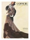 L'Officiel - Robe du Soir de Grès Posters by  Mourgue