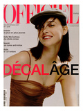 L'Officiel, June-July 2001 - Jenny Prints by Geoffroy de Boismenu