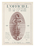 L'Officiel, September 15 1921 - Réverie d'Opium, Robe Jean Patou Posters by  Delphi