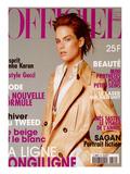 L'Officiel, October 1996 - Meghan Douglas Habillée Par Gucci Prints by Francesco Scavullo