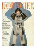 L'Officiel, September 1970 - Ensemble de Christian Dior Art by  Guégan