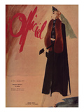 L'Officiel, October 1937 - Nina Ricci Poster by  Lbenigni