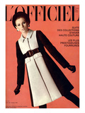 L&#39;Officiel, October 1967 - Jeanne Lanvin Prints by Roland Bianchini