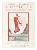 L'Officiel, October 1925 - de Loin Posters by  Martial et Armand