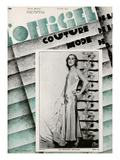 L&#39;Officiel, October 1929 - Miss Margaret Douglass Posters by Madame D&#39;Ora &amp; A.P. Covillot