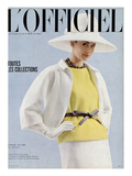 L'Officiel, April 1963 - Tailleur d'André Courrèges Print by  Reichle