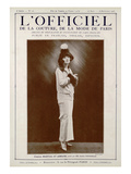 L'Officiel, August-September 1923 - Mlle Andrée Fontenelle, Marshal & Armand Art by Rahma