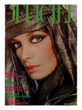 L&#39;Officiel, October 1977 - Marie Lafor&#234;t Poster by Rodolphe Haussaire