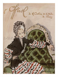 L'Officiel, July 1944 - Gaston, Rose Valois Poster von  Mourgue
