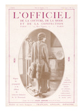 L'Officiel, June 15 1922 - Bois de Rose, Alice Bernard pour Vera Sergine Prints