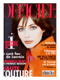 L'Officiel, September 1996 - Emmanuelle Béart Posters by André Rau