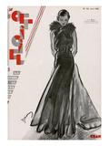 Drian - L'Officiel, June 1932 - Création Chanel - Poster