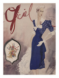 L'Officiel, July 1942 - Nina Ricci, Van Cleef et Arpels Prints by  Lbenigni