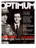 L'Optimum, April-May 2000 - Alain Prost et Alesi Prints by Marcel Hartmann
