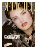 L'Officiel, November 1984 - Christian Dior Posters par Robert Diadul