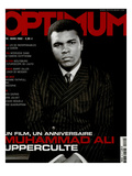 L&#39;Optimum, March 2002 - Muhammad Ali Art par Yousuf Karsh