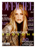 L'Officiel, October 1997 - Sarah Thomas Porte Le Manteau de La Rentrée Créé Par Trussardi Prints by Neil Kirk