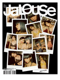 Jalouse, December 2009-January 2010 - Yulia et U Prints by Nobuyoshi Araki