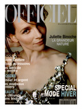 L'Officiel, September 1998 - Juliette Binoche Premium Giclee Print by Marc Home