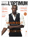 L'Optimum, July-August 2011 - Usain Bolt Affiche par Ralph Mecke