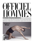 L&#39;Officiel, Hommes August 2008 - Roberto Bolle Poster par Milan Vukmirovic