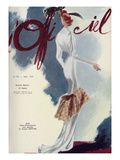 L'Officiel, August 1937 - Alix Posters by  Lbenigni