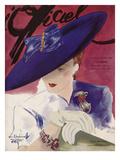 L'Officiel, June 1939 - Rose Valois Poster van  Lbenigni
