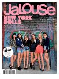 Jalouse, September 2008 - Ilirjana, Pamela, Isabelle, Harley, Annabelle, Lizzy Premium Giclee Print by  André