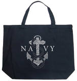 U.S. Navy - Anchors Aweigh Tote Bag