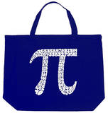 First 100 Digits of Pi Tote Bag