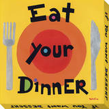 Eat Your Dinner Stretched Canvas Print