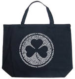 Clover - Irish Eyes Are Smiling Tote Bag