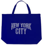 New York City - Neighborhoods Tote Bag