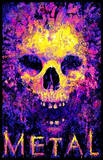 Metal to the Bone Blacklight Prints