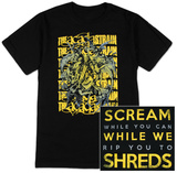 The Acacia Strain - Rip You to Threads T-shirts