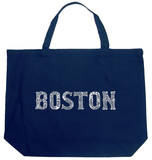 Boston Neighborhoods Tote Bag
