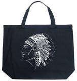 Indian Tribes Tote Bag