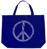 Broken Peace Symbol Tote Bag