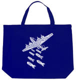 Drop Beats Not Bombs Tote Bag