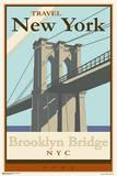 Brooklyn Bridge - Travel New York Posters