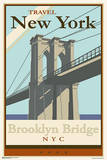 Brooklyn Bridge - Travel New York Poster