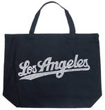 Los Angeles Neighborhoods Tote Bag