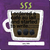 Cafe au Lait Stretched Canvas Print by  KOCO