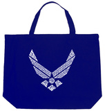 Air Force Song Tote Bag