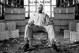 Breaking Bad - All Hail the King - Walter White Bryan Cranston TV Poster Kunstdrucke