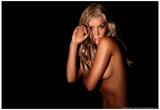 Sheridyn Fisher Gold Bikini Prints